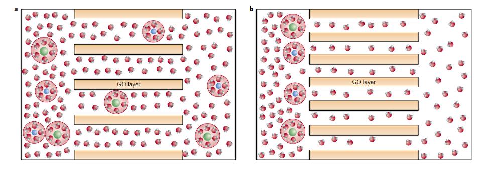 """Физики научились опреснять воду при помощи """"решета"""" из графена"""