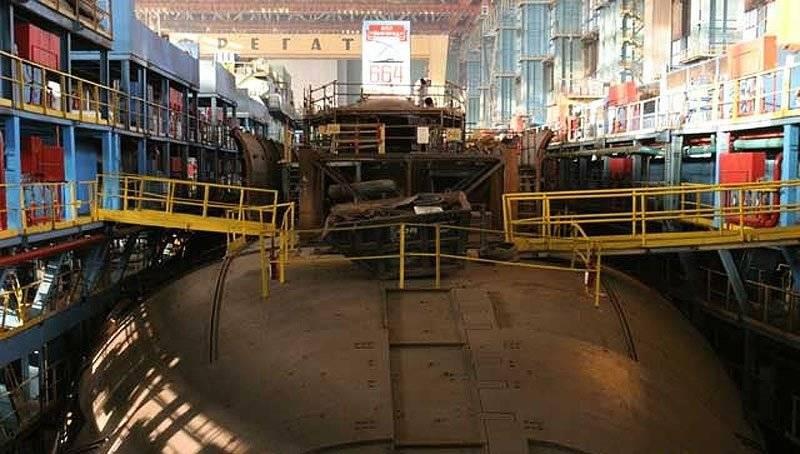 атомная подводная лодка 09852
