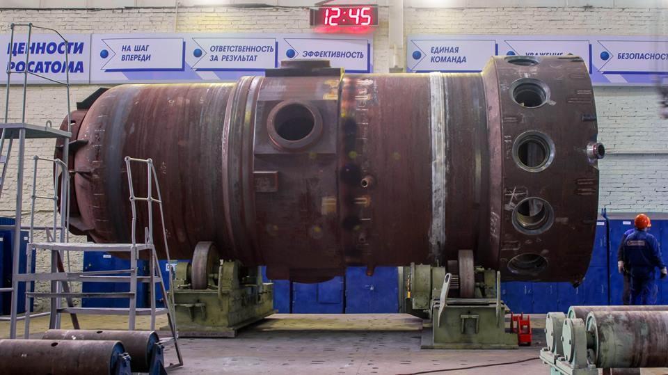 На ЗиО-Подольске собрали корпус второго реактора для первого серийного ледокола «Сибирь»