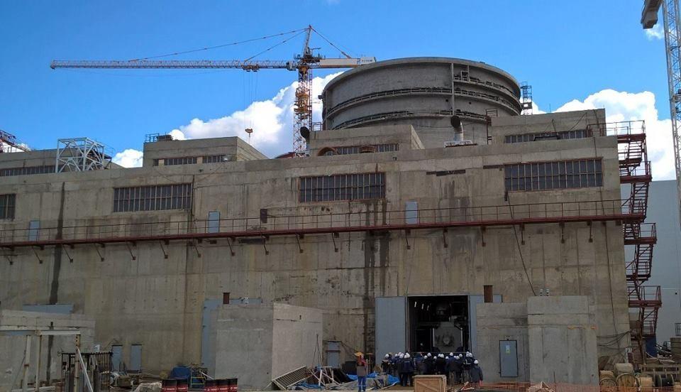 На строительной площадке Ленинградской АЭС-2 состоялся запуск первого дизель-генератора