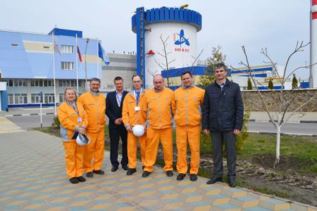 На Нововоронежской АЭС успешно завершилась миссия технической поддержки ВАО АЭС