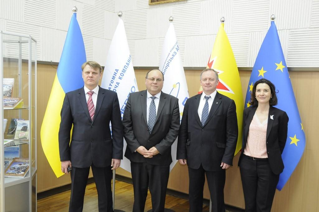 Глава ВАО АЭС Жак Регальдо посетил Запорожскую АЭС