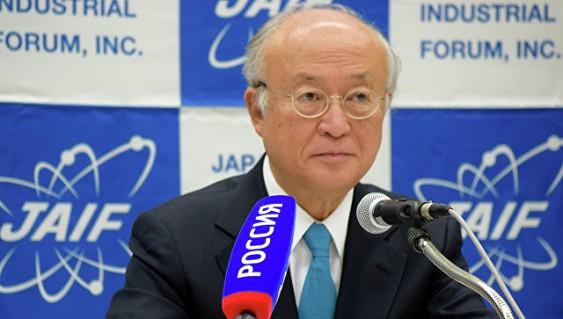 Глава МАГАТЭ Юкиа Амано планирует выступить на ПМЭФ-2017