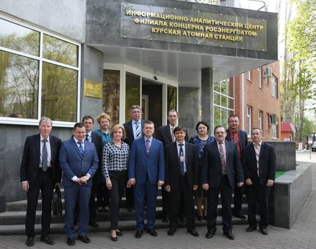 На Курской АЭС завершила работу миссия технической поддержки ВАО АЭС по показателям эффективности работы