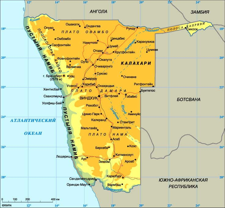 РФ и Намибия планируют в сентябре подписать межправсоглашение по атомной энергетике