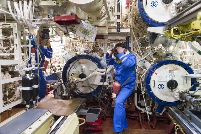 На Камчатке прошло учение по тушению пожара на атомной подводной лодке