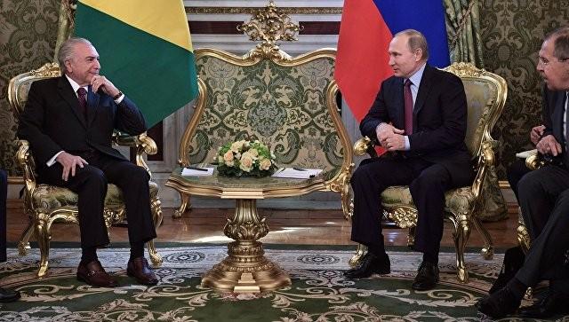 Россия намерена построить на АЭС в Бразилии хранилище отработанного топлива