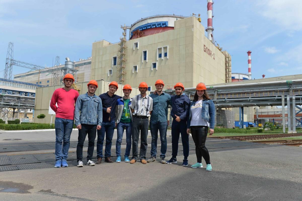 На Ростовской АЭС прошли обучение будущие атомщики Республики Беларусь