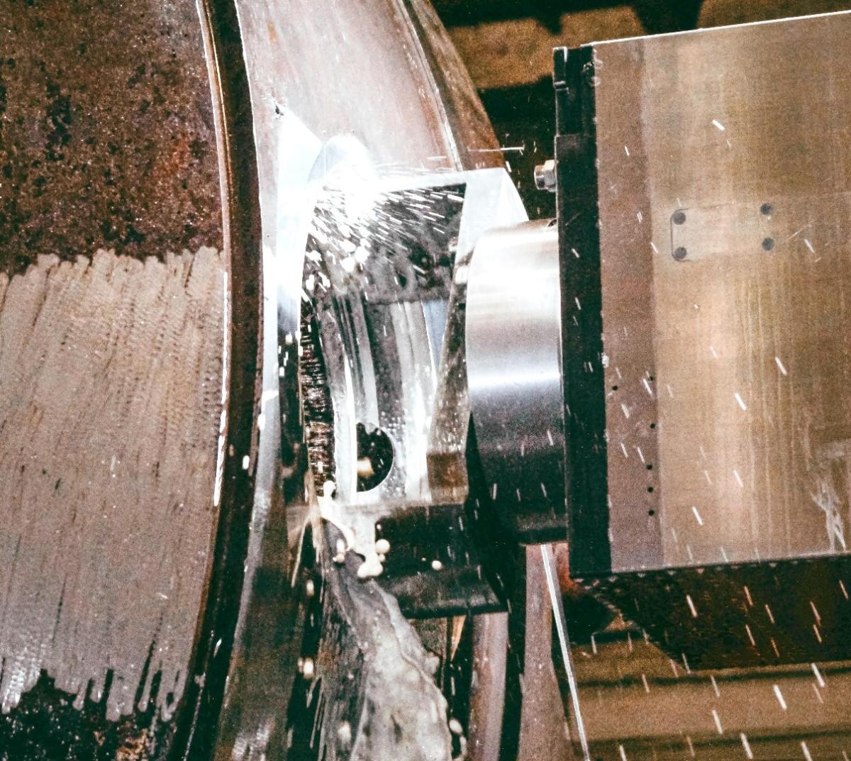 На ЗиО-Подольске внедрили эксклюзивный инструмент для механической обработки корпусов реакторов
