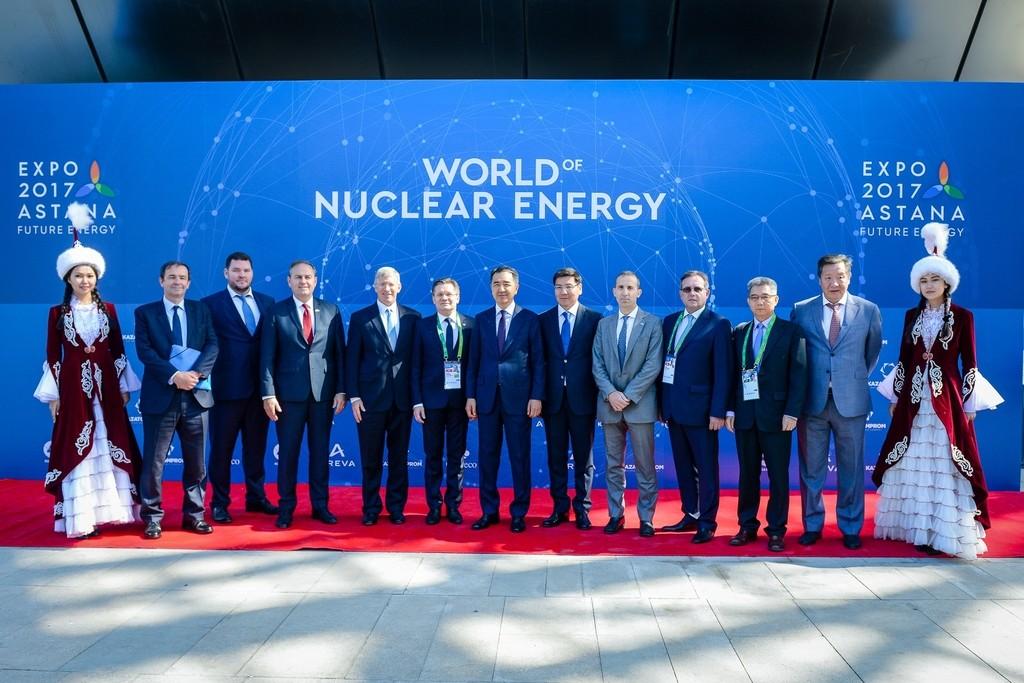 На Астана ЭКСПО-2017 главы ведущих мировых компаний обсудили перспективы развития ядерной энергетики