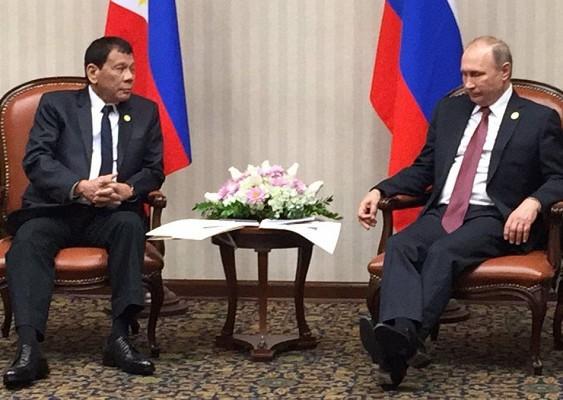 Президенты России и Филиппин договорились о сотрудничестве в области мирного атома