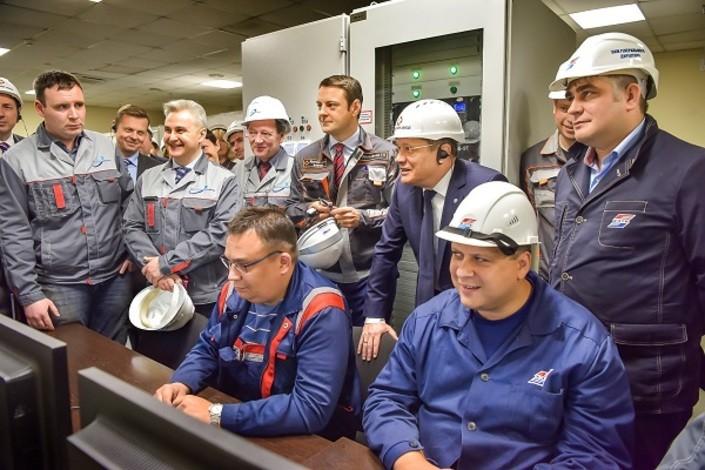 Гендиректор Росатома посетил Кировский завод