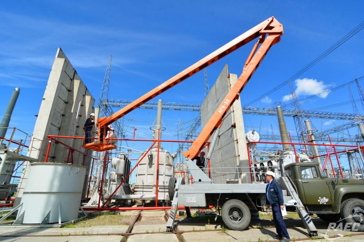 На Ровенской АЭС начаты ремонтные работы на открытом распределительном устройстве ОРУ-750 кВ