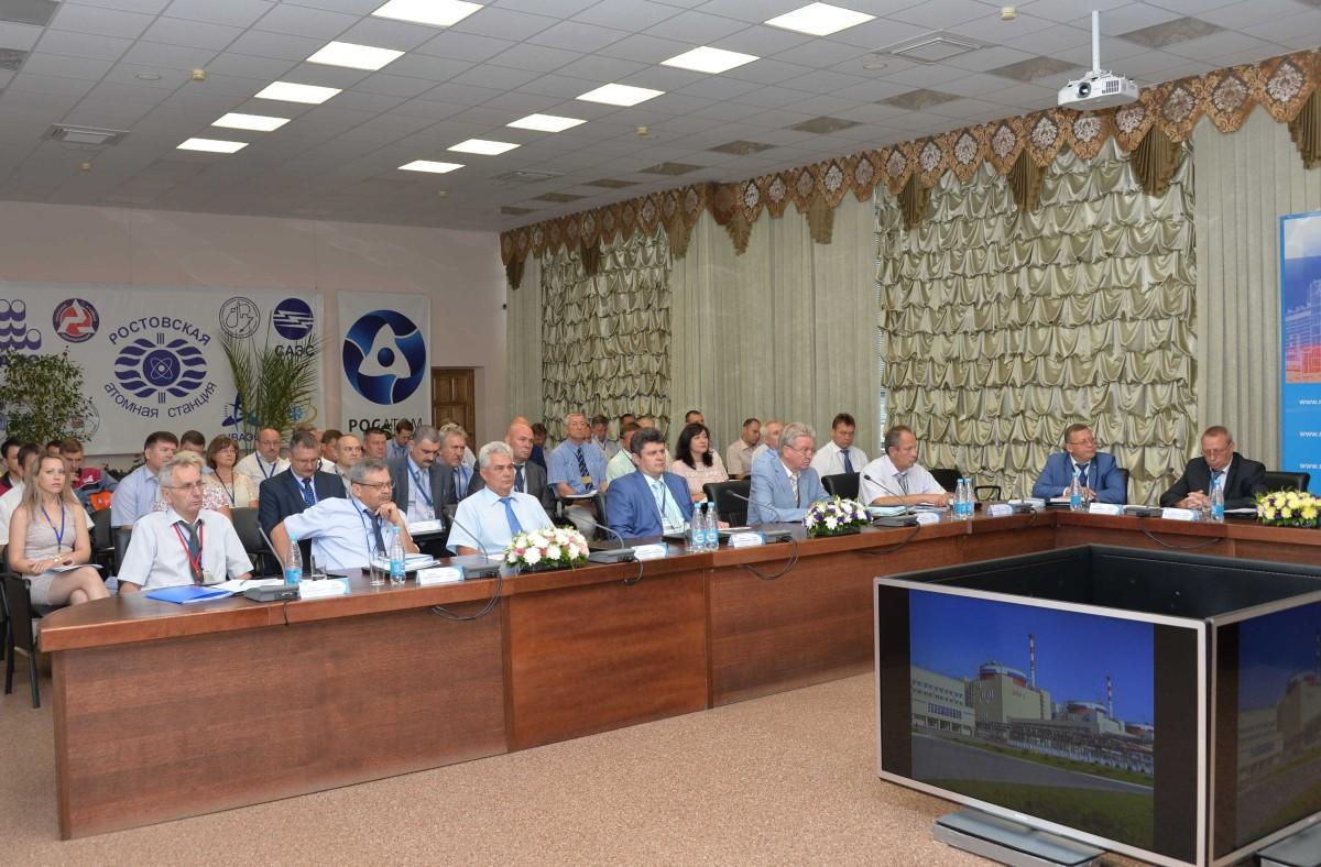 Международные эксперты ВАО АЭС оценят готовность энергоблока №4 Ростовской АЭС к пуску