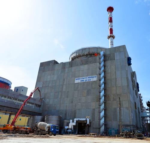 На строящемся энергоблоке №4 Ростовской АЭС проведены испытания основного шлюза