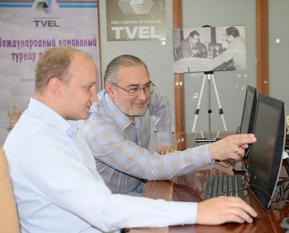 Команда Электрохимического завод стала победителем юбилейного шахматного турнира памяти В.Ф. Коновалова