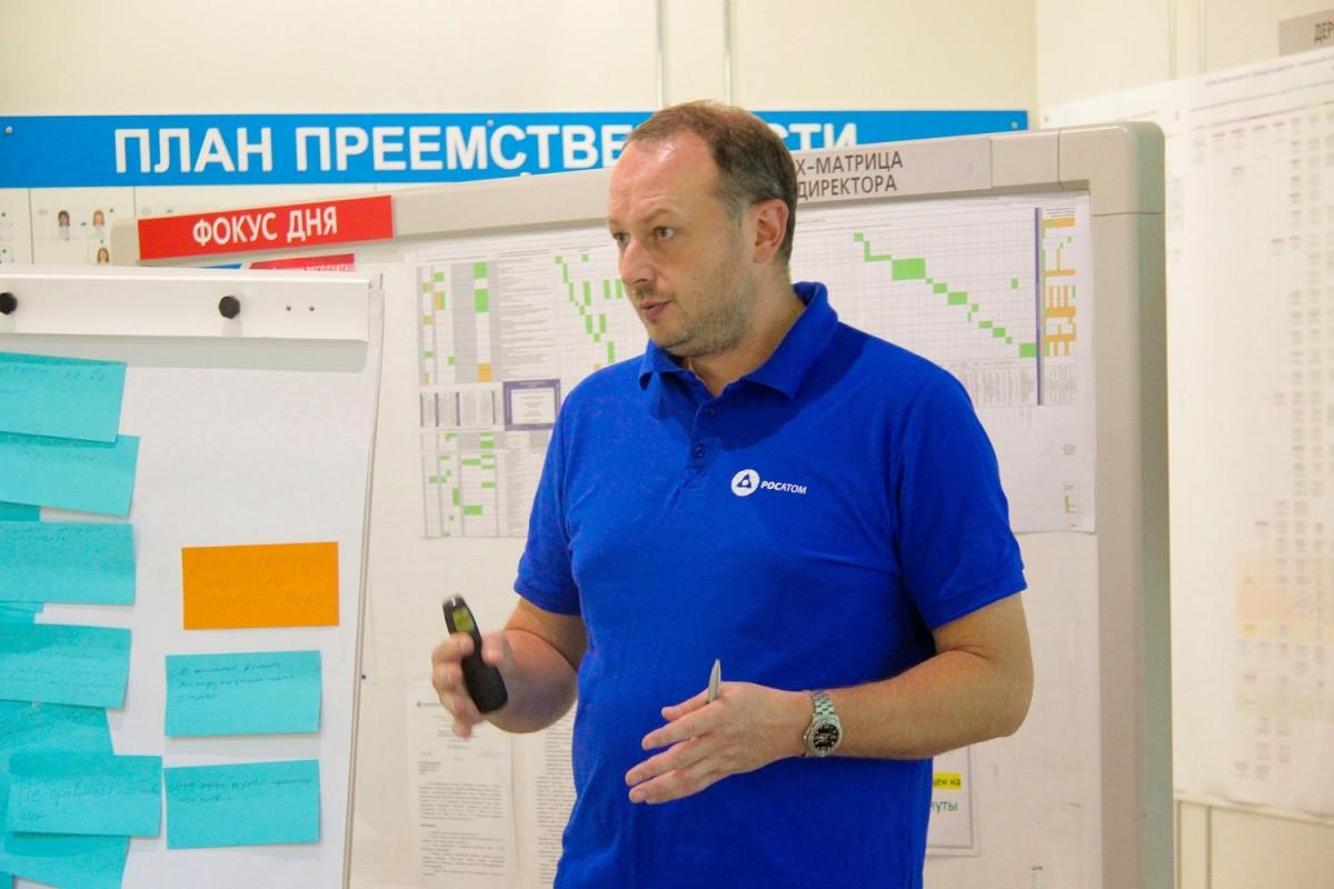 Первый заместитель генерального директора Росатома Николай Соломон провел семинар на Смоленской АЭС