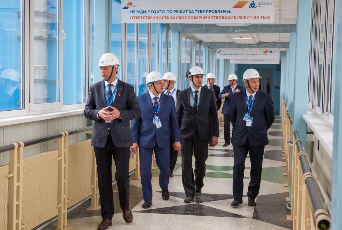 На Калининской АЭС завершилась миссия технической поддержки ВАО АЭС  по вопросам совершенствования системы работы персонала