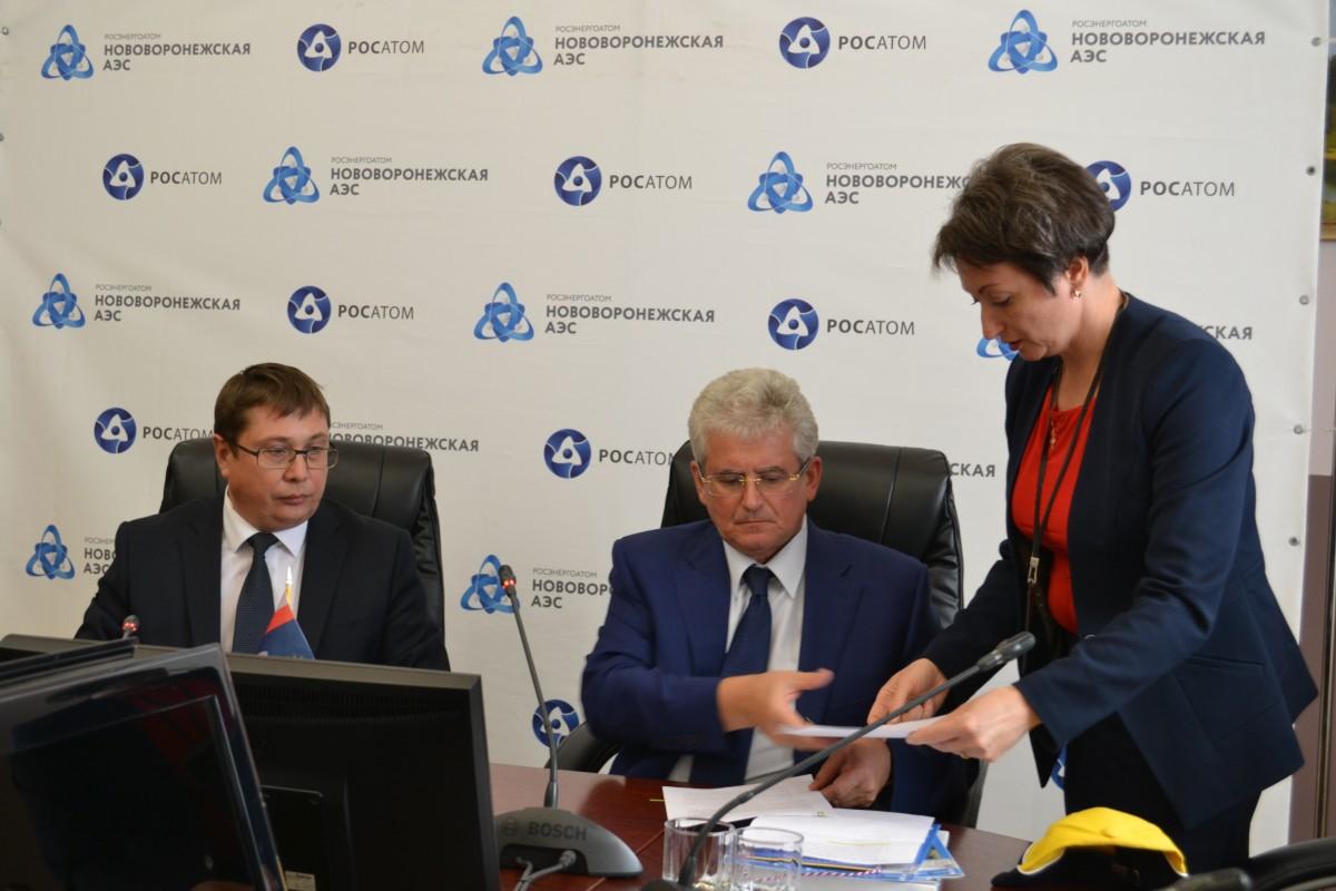 Нововоронежская АЭС подписала соглашение о сотрудничестве с ведущим вузом Черноземья