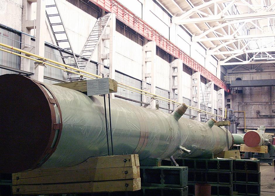 Первые элементы ГЦТ установлены на строящемся энергоблоке №2 Ленинградской АЭС