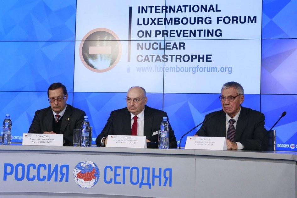 Участники Юбилейной конференции Люксембургского форума в Париже обсудят актуальные проблемы нераспространения ядерного оружия