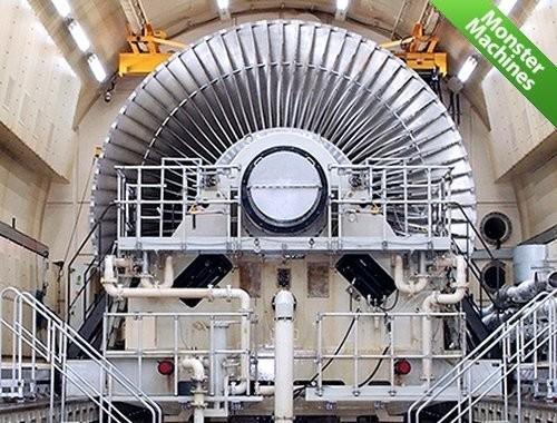 В Японии испытывают крупнейшую в мире турбину для АЭС