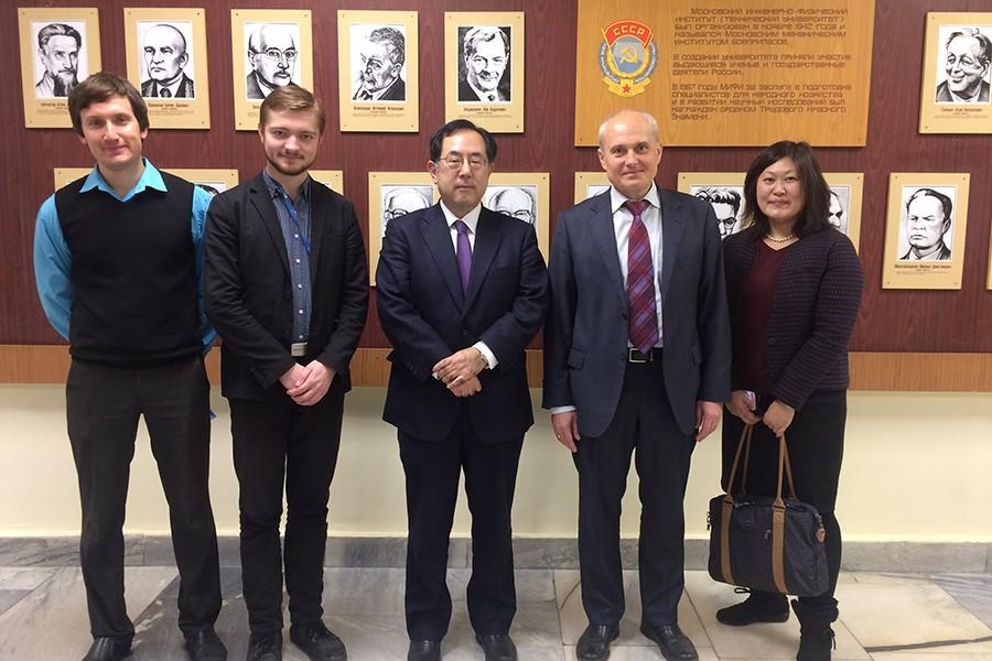 НИЯУ МИФИ посетила делегация представителей Токийского технологического института (Япония) и Ассоциации по исследованию ядерной безопасности