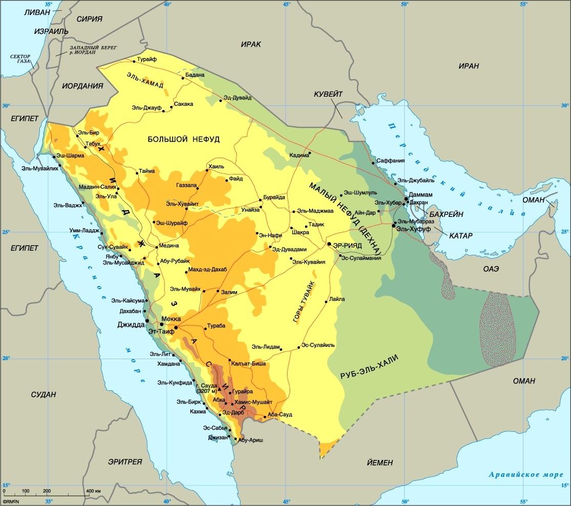 Саудовская Аравия разослала RFI поставщикам реакторных технологий