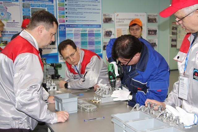 Представители крупнейших российских предприятий прошли обучение принципам ПСРна фабрике процессов КМЗ