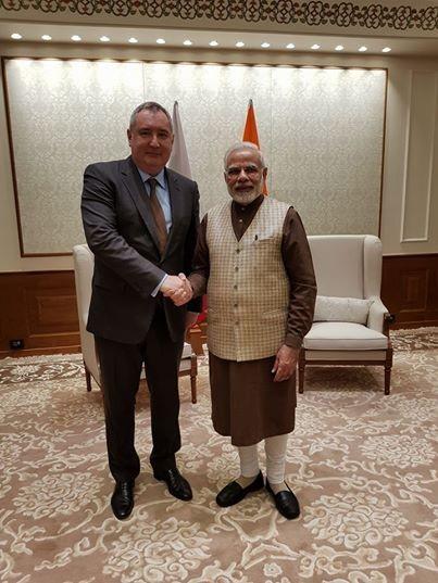 Рогозин обсудил с премьером Индии совместные проекты в атомной энергетике
