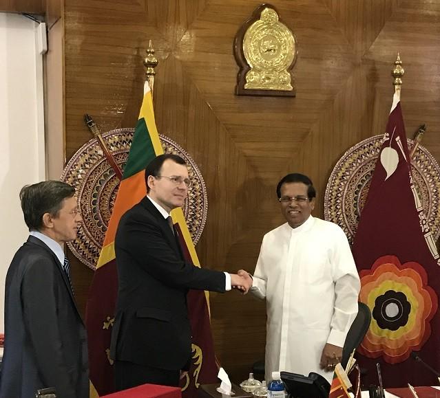 Замгендиректора Росатома Н. Спасский посетил с рабочим визитом Шри-Ланку