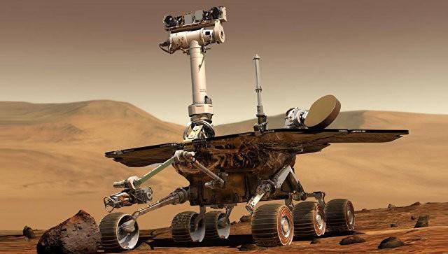 Марсоход Opportunity отпраздовал пятитысячный день работы на Марсе