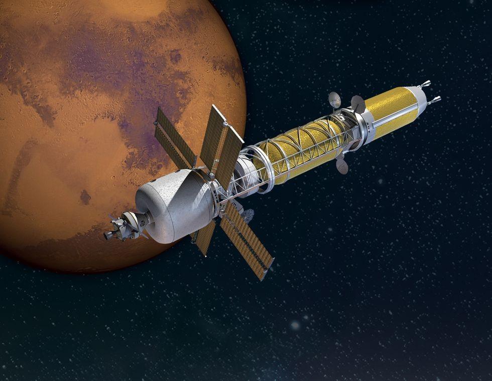 NASA намерено вернуться к использованию ядерных двигателей