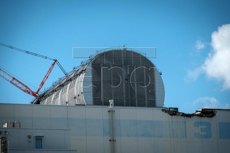 """TEPCO завершила возведение саркофага над третьим блоком АЭС """"Фукусима-1"""""""