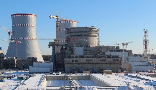 На стройплощадке энергоблока №2 Ленинградской АЭС-2 за три смены уложено 600 кубометров бетона