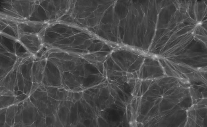 Тёмная материя может состоять не из частиц