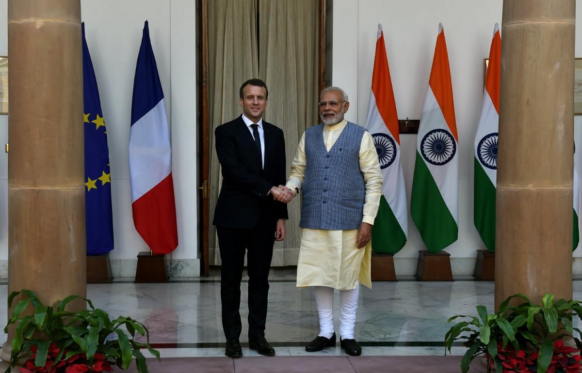 Макрон и Моди призвали EDF и NPCIL ускорить подготовку контракта на АЭС Джайтапур