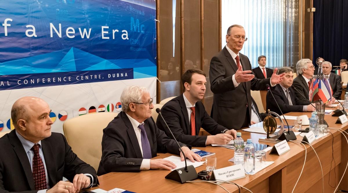 В Дубне прошла международная конференция высокого уровня «ОИЯИ: 25 лет новой эры»