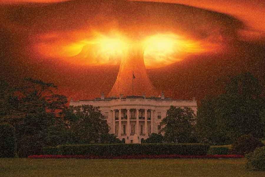 В США смоделировали последствия ядерного взрыва возле Белого дома ...