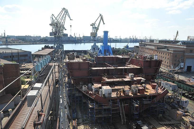 Балтийский завод может построить еще два ледокола проекта 22220