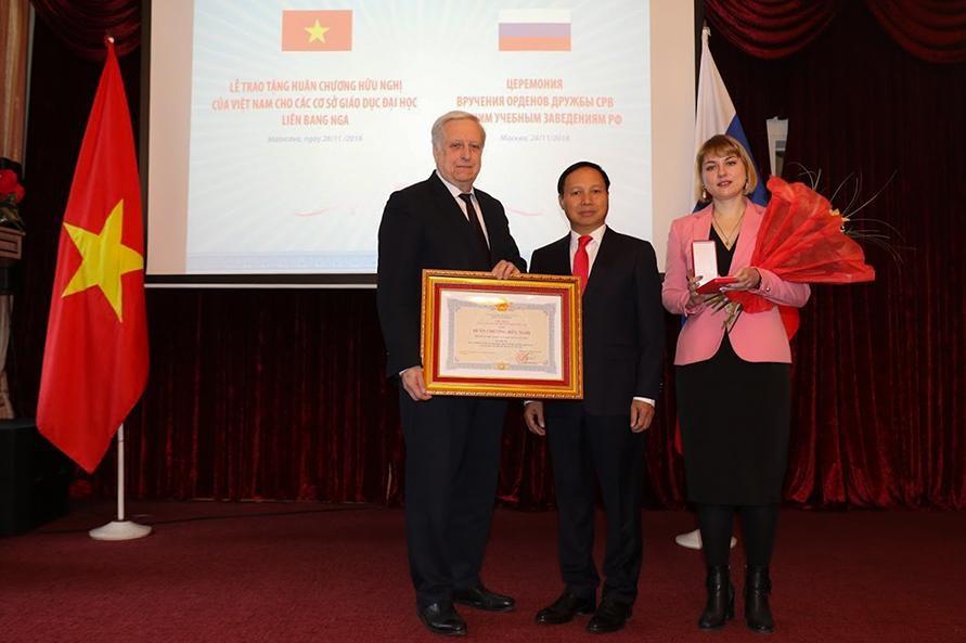 НИЯУ МИФИ награжден Орденом Дружбы Социалистической Республики Вьетнам