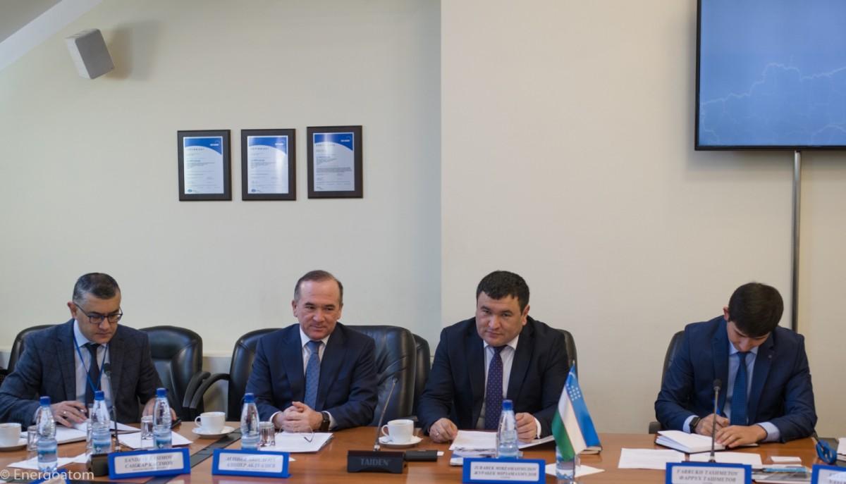 Состоялась встреча руководителей атомных ведомств Украины и Узбекистана
