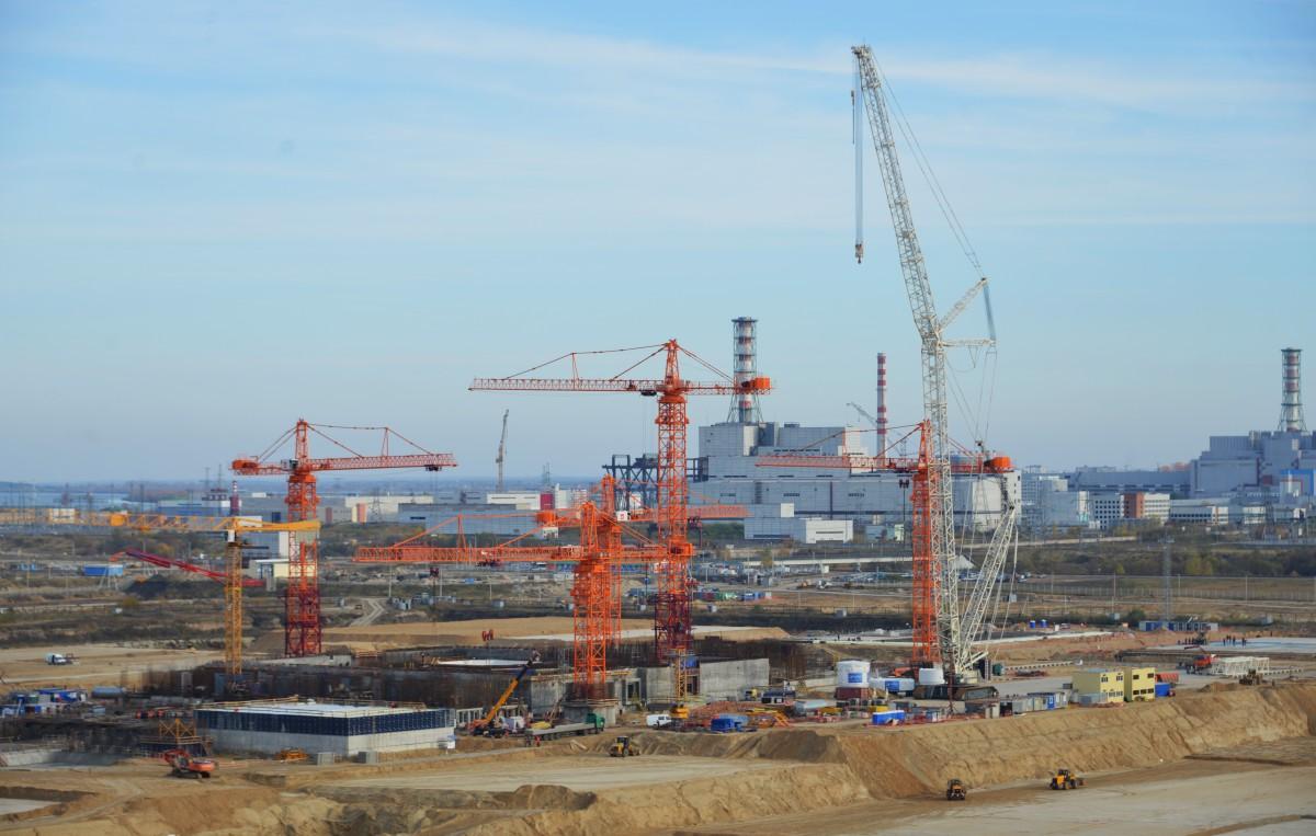 На Курской АЭС-2 с опережением графика началось бетонирование фундаментной плиты блочной насосной станции энергоблока №1