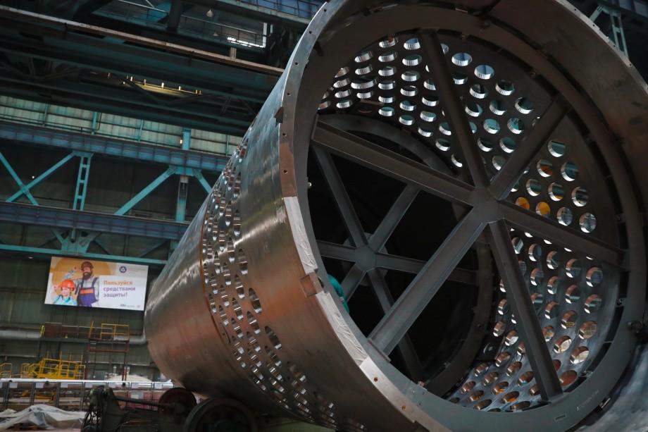 На Атоммаше изготовили оборудование для первого реактора АЭС «Руппур»