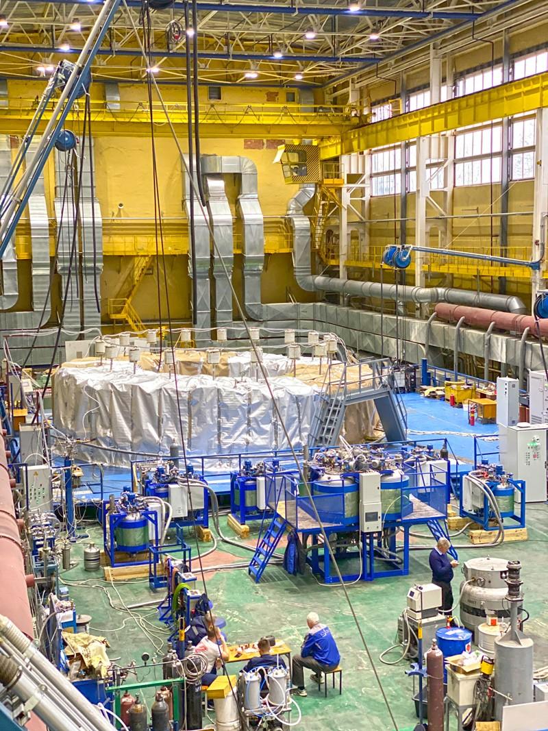 Российская катушка полоидального поля для ИТЭР прошла решающую стадию производства   Атомная энергия 2.0