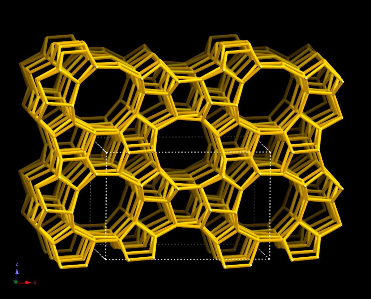 Database of Zeolite Structures