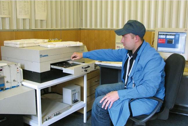Радиометрические измерения образцов