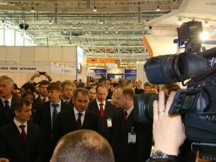 Глава Министерства по чрезвычайным ситуациям Сергей Шойгу