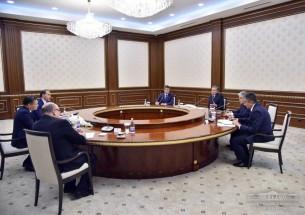 Пресс-служба президента Узбекистана