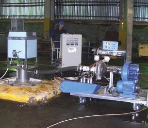 Модульная передвижная установка «МИК-1»